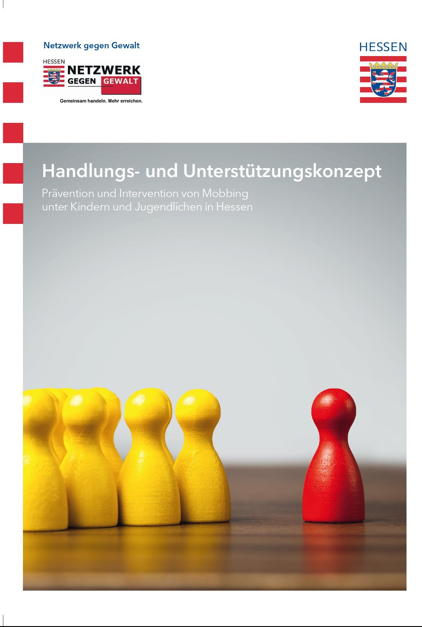 Cover Handreichung Mobbing